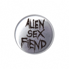 Metal ASF Black Logo Badge